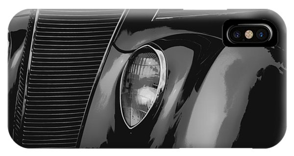 Illusion iPhone Case - Streetrod 1937 Ford by Jack Zulli