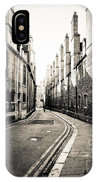 Streets Of Cambridge - For Eugene Atget IPhone Case
