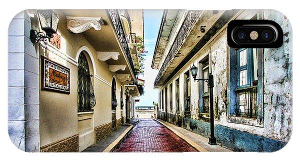 Streets Of El Casco Viejo 2  IPhone Case