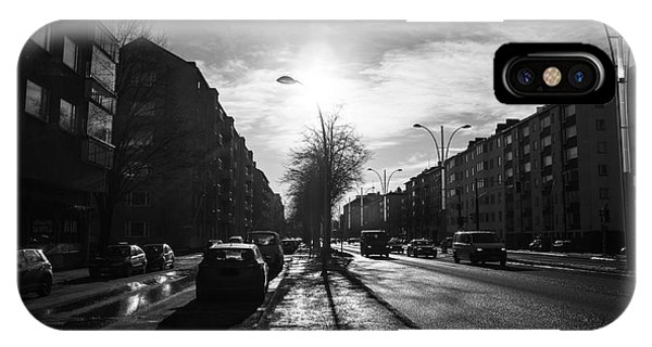 Streets Of Helsinki IPhone Case