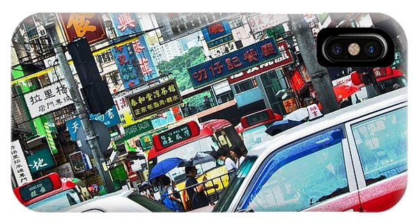Streets Of Hong Kong IPhone Case