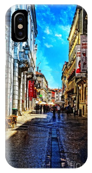 Streets Of Lisbon 1 IPhone Case