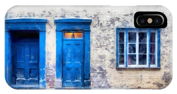 Quebec City iPhone Case - Streets Of Old Quebec 2 by Edward Fielding