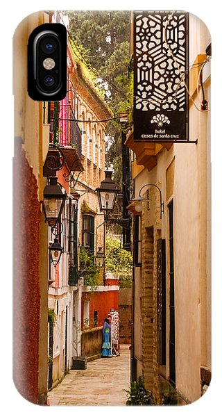 Streets Of Seville  IPhone Case