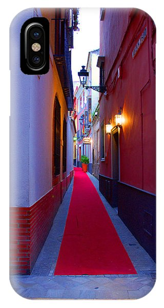 Streets Of Seville - Red Carpet  IPhone Case