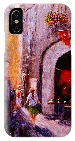 Streets Of Vernazza.. IPhone Case