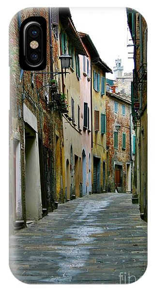Streetscape Tuscany IPhone Case