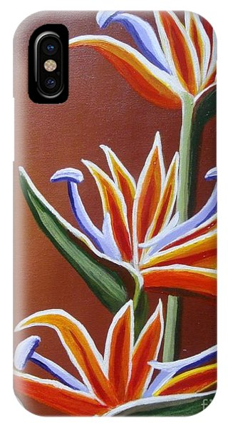 Strelitzia IPhone Case