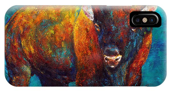 Strength Of The Bison IPhone Case