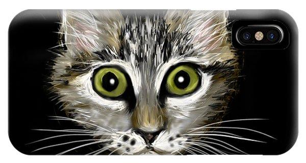 Strengthening Cat IPhone Case