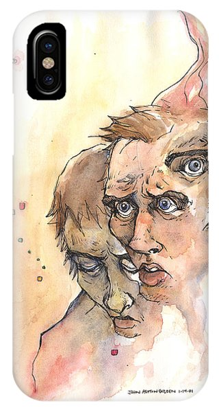 Stress Anxiety Depression IPhone Case