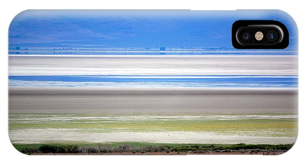 Striations At Honey Lake IPhone Case