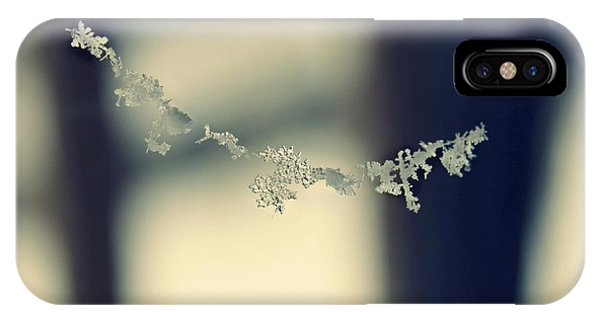 String Of Snowflakes IPhone Case