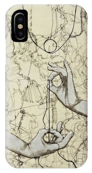 iPhone Case - String Theory - This Moment by Andrea Benson