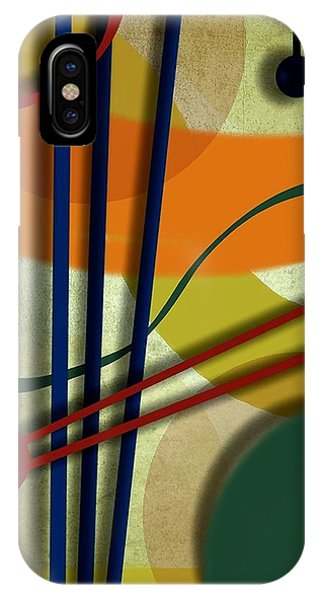 Abstract Strings IPhone Case