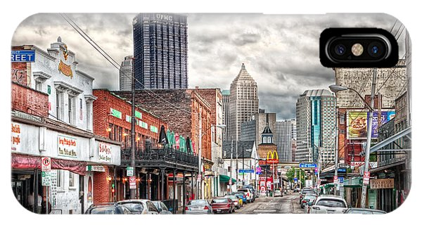 Strip District Pittsburgh IPhone Case