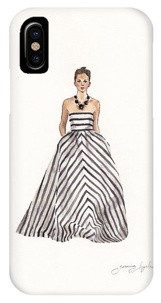 Striped Glamour IPhone Case