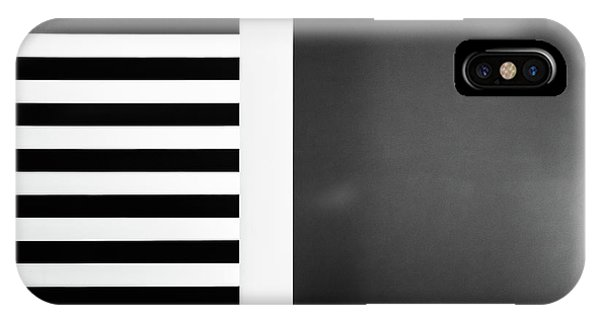 Stripes And Shadows Phone Case by Inge Schuster