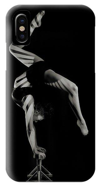 Strength iPhone Case - Stripes by Howard Ashton-jones