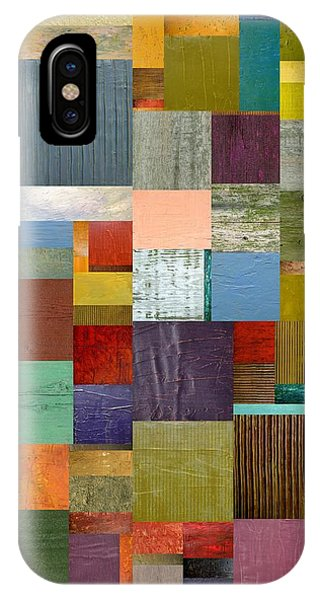 Strips And Pieces Vl IPhone Case
