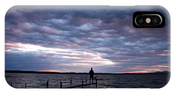 Strom Watch Sebago Lake IPhone Case