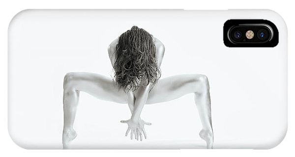 Pose iPhone Case - Strong - Gymnastics Series by Howard Ashton-jones