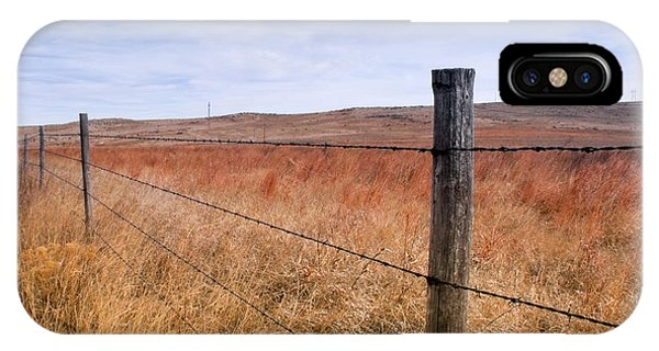 Strong Prairie Fences IPhone Case