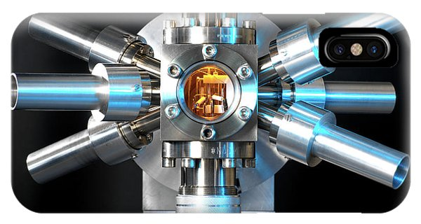Npl iPhone Case - Strontium Optical Clock by Andrew Brookes, National Physical Laboratory/science Photo Library