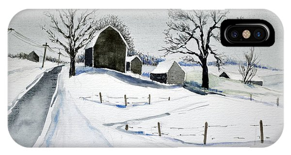 Strutt Road Wayland Ny IPhone Case