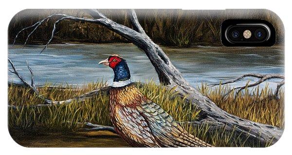 Strutting Pheasant IPhone Case
