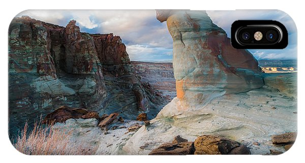 Monument Valley iPhone Case - Stud Horse Point 2 by Larry Marshall