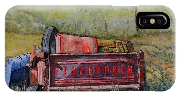 Studebaker Truck Tailgate Phone Case by DJ Laughlin