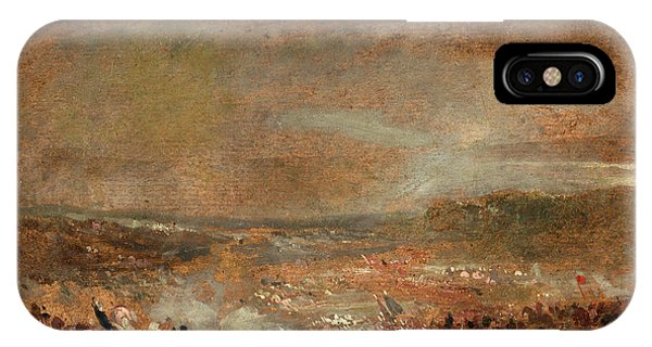Study For Battle Of Waterloo Study For Battle Of Waterloo Phone Case by Litz Collection