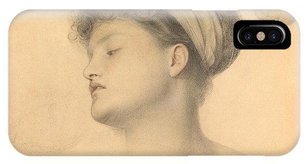 Study For Girl With Doves IPhone Case