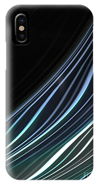 Study In Blues IPhone Case