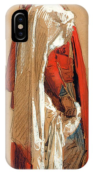 Study Of A Man In Oriental Costume IPhone Case