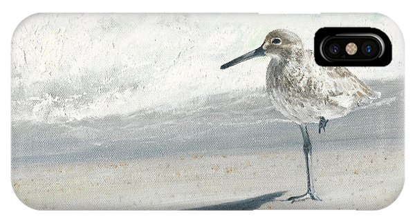 Study Of A Sandpiper IPhone Case