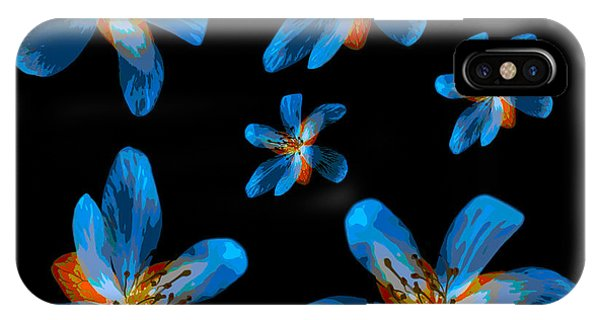 Study Of Seven Flowers #2 IPhone Case