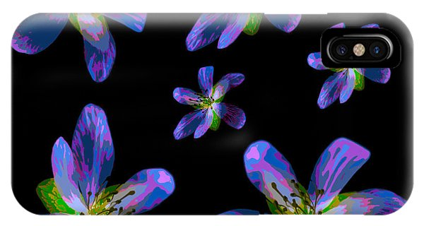 Study Of Seven Flowers #6 IPhone Case