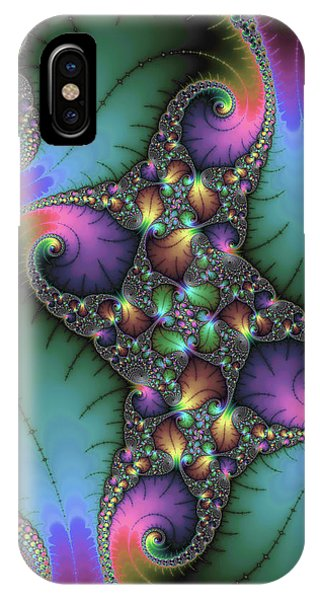 Abstract Digital iPhone Case - Stunning Mandelbrot Fractal by Matthias Hauser