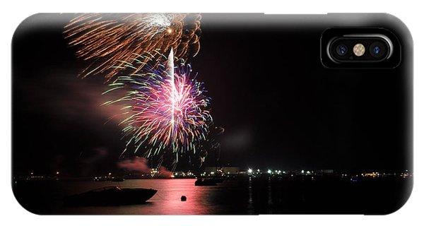 Sturgeon Bay Fireworks IPhone Case