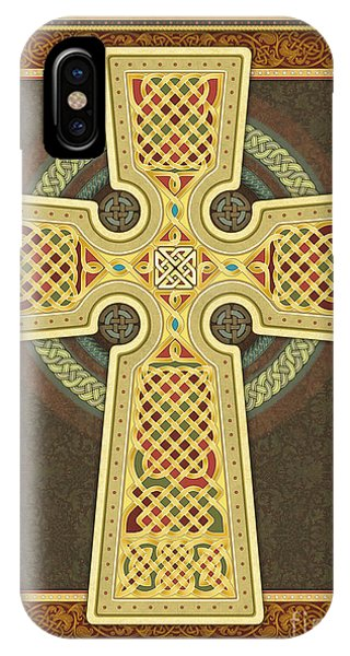 Stylized Celtic Cross IPhone Case