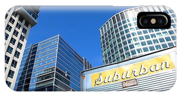 Suburban City Sprawl IPhone Case
