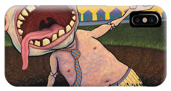 Debts iPhone Case - Suburban Tarpit by James W Johnson