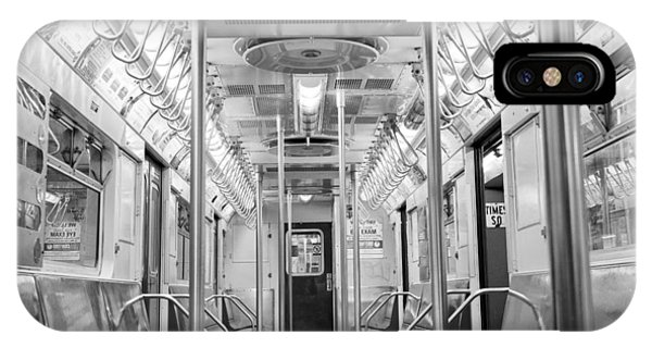 New York City - Subway Car IPhone Case