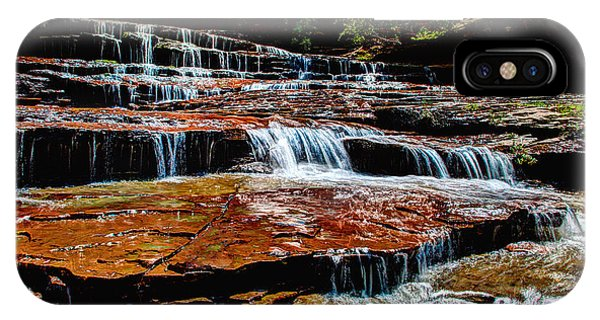 Flow iPhone Case - Subway Falls by Chad Dutson