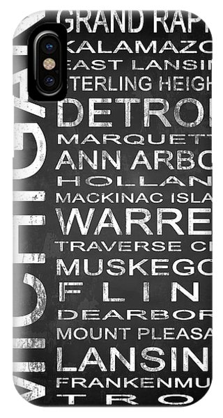 Holland iPhone Case - Subway Michigan State 1 by Melissa Smith