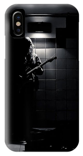 IPhone Case featuring the photograph Subway Music Lawrence West Station Toronto Canada by Brian Carson