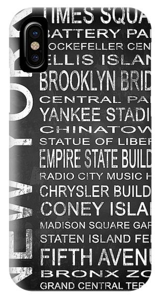 Empire State Building iPhone Case - Subway New York 1 by Melissa Smith