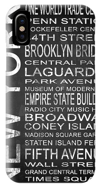 Empire State Building iPhone Case - Subway New York 3 by Melissa Smith